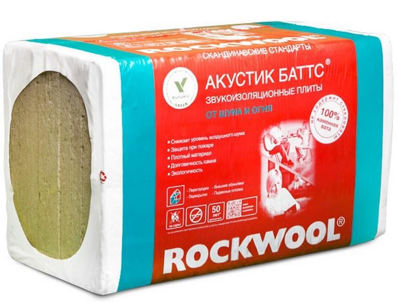 Звукоизоляция Rockwool