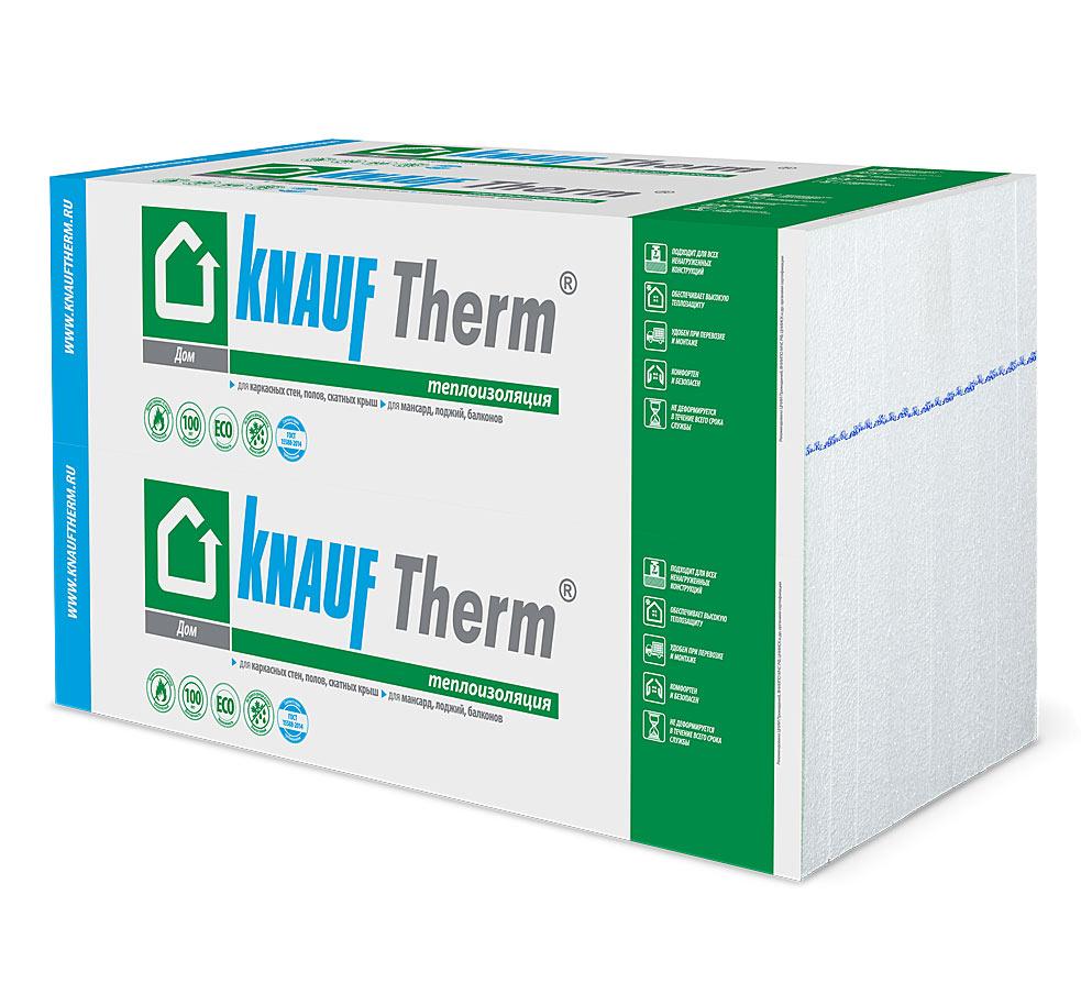 Теплоизоляционные материалы KNAUF Therm