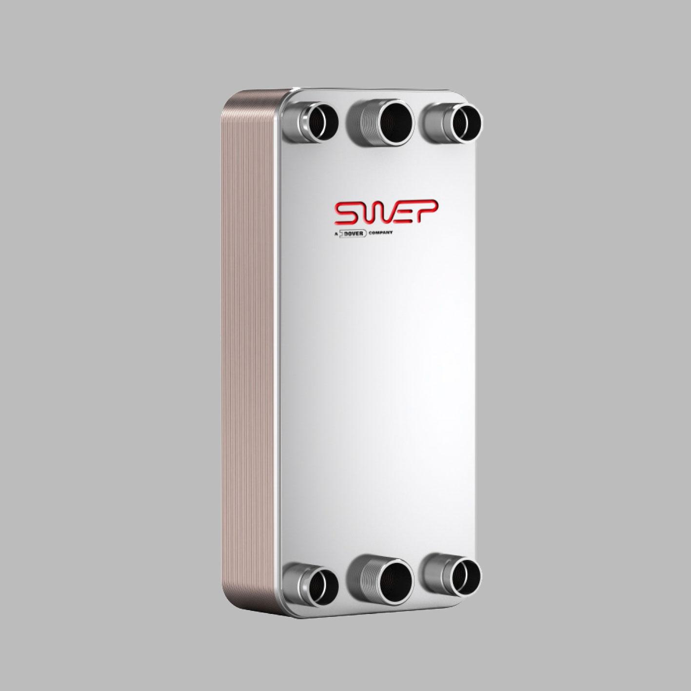 Паяные теплообменники SWEP типа DV