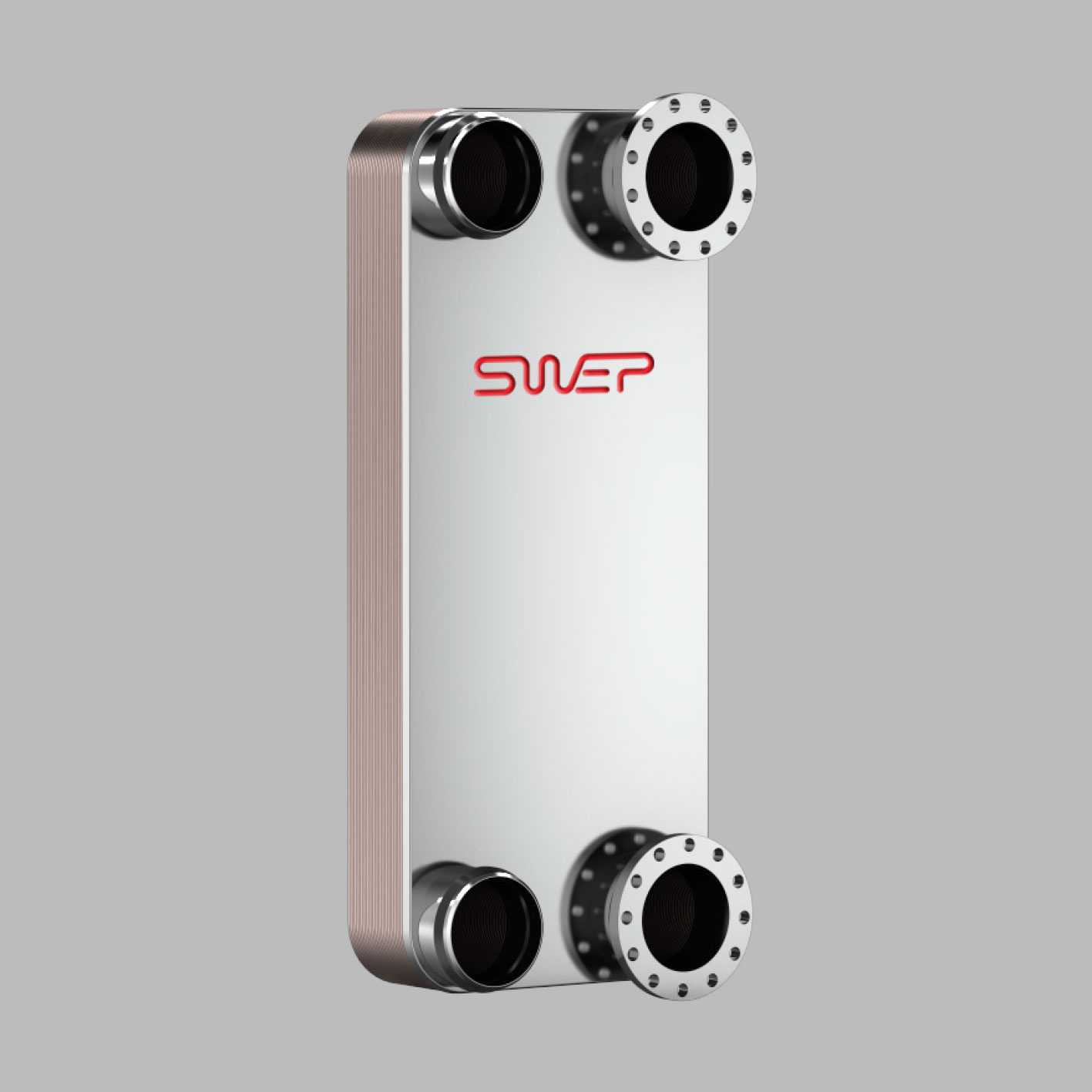 Паяные теплообменники SWEP типа P