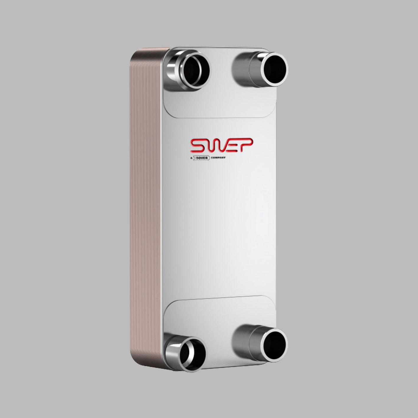 Паяные теплообменники SWEP типа VX