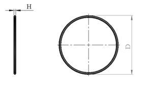 Кольцо D3