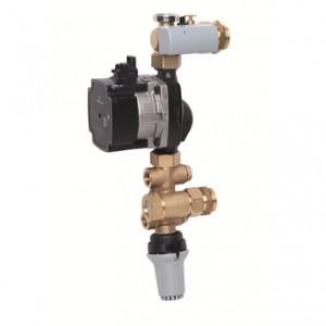 Узел смешения Данфосс FHM-C1 с энергоэффективным насосом Grundfos UPM3 Auto L 15-70, Danfoss