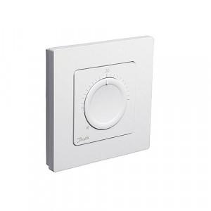 Danfoss Icon™ дисковый комнатный термостат, 230 В, встраиваемый, Данфосс