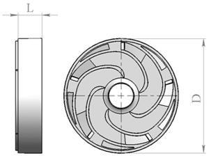 Отвод лопаточный БЦПЭ 0.3