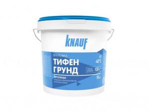 Грунтовка укрепляющая глубокого проникновения КНАУФ-ТИФЕНГРУНД 10 кг морозостойкая