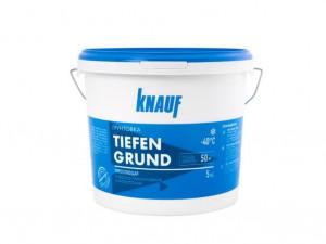 Грунтовка укрепляющая глубокого проникновения КНАУФ-ТИФЕНГРУНД 5 кг морозостойкая