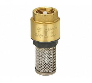 Клапан обратный Ду 10 Бугатти, EURO 1000® с приемным фильтром 1000мкм, резьбы внутренняя - внутренняя, Bugatti