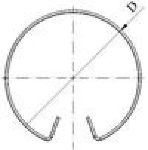 Кольцо запорное БЦПЭ 0.3