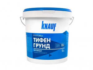 Грунтовка укрепляющая глубокого проникновения КНАУФ-ТИФЕНГРУНД 10 кг