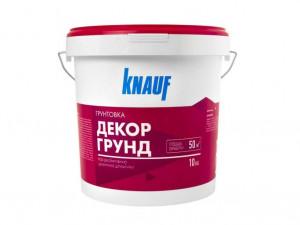 Грунтовка под декоративную цементную штукатурку КНАУФ-ДЕКОРГРУНД 10 кг