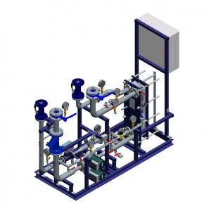 Блочный тепловой пункт (БТП) WaterLine (WL) Ридан - Блок системы вентиляции