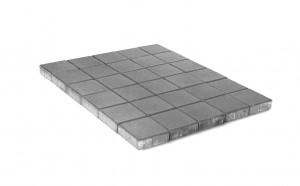Тротуарная плитка Браер ЛУВР «Серый» 11,88 м²