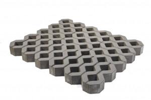 Газонная решетка Браер «Меба» серая (однослойная) 10.8 м²