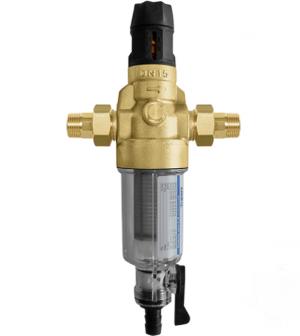 """Фильтр для холодной воды с прямой промывкой и редуктором давления BWT Protector mini C/R HWS ½"""""""