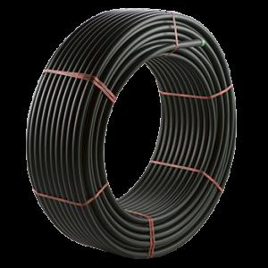 Труба ПНД PE100 25х1,4 мм PN 8,0 бухта 100 м для водоснабжения Джилекс