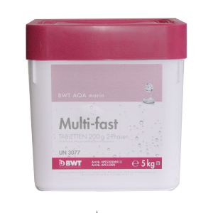 Препарат для дезинфекции воды BWT AQA Marin Multi-fast Tabletten 200 гр, 5 кг.