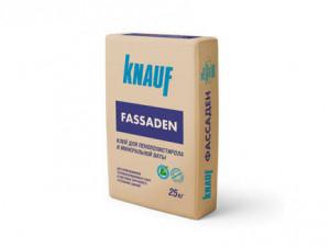 Клей для пенополистирола и минеральной ваты КНАУФ-ФАССАДЕН