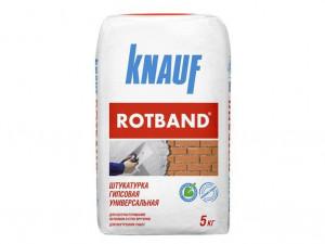 Штукатурка гипсовая универсальная КНАУФ-Ротбанд 5 кг