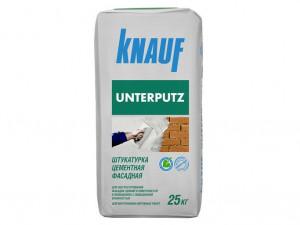 Штукатурка цементная фасадная КНАУФ-Унтерпутц