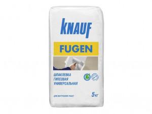 Шпаклевка гипсовая универсальная КНАУФ-Фуген 5 кг