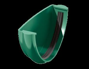 Заглушка желоба ТехноНиколь зеленая