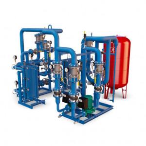 БТП Этра - Модуль отопления-вентиляции с независимым присоединением с 2 теплообменниками (с резервом)
