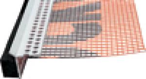 Профиль ROCKWOOL примыкающий угловой с сеткой и ПСУЛ