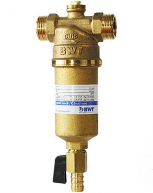 """Фильтр для горячей воды с прямой промывкой BWT Protector mini H/R 1"""""""