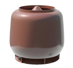 Колпак D110/D160 ТехноНиколь коричневый
