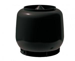 Колпак D110/D160 ТехноНиколь черный
