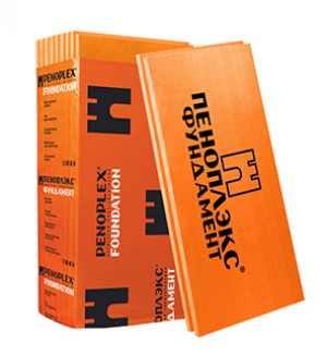 Плита Пеноплэкс Фундамент 1185*585*100 мм 4 шт в упаковке