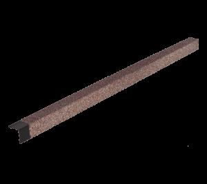Металлический уголок HAUBERK ТехноНиколь мраморный