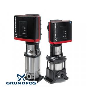 Вертикальный многоступенчатый центробежный насос со встроенным частотным преобразователем Grundfos CRNE 1-4 HQQE