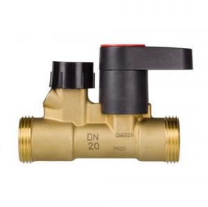 Данфосс ручной балансировочный клапан Ду 15 MSV-S, наруж резьба, Danfoss
