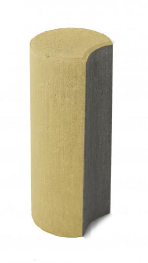 Бетонный столбик Браер «Палисад» песочный