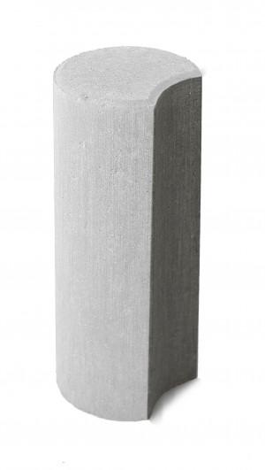 Бетонный столбик Браер «Палисад» белый