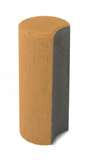 Бетонный столбик Браер «Палисад» янтарный