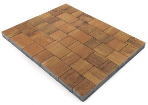 Тротуарная плитка Браер СТАРЫЙ ГОРОД ВЕНУСБЕРГЕР COLOR MIX Тип 17 «Прайд» 160х160 мм 11,52 м²