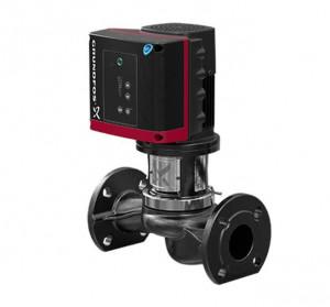 TPE 25-50/2R BQQE Grundfos, центробежный насос «ин-лайн» Грундфос