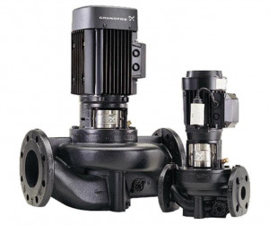 TP 25-90/2 R BQBE Grundfos, центробежный насос  «ин-лайн» Грундфос