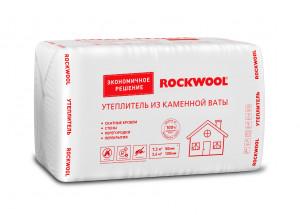 Базальтовая вата ROCKWOOL УТЕПЛИТЕЛЬ 1000*600*100 мм 6 штук в упаковке