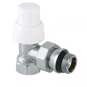 Валтек VT.031.NR клапан термостатический угловой с дополнительным уплотнением, Valtec