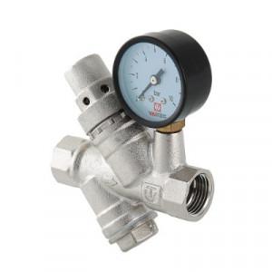 """Валтек VT.082.N 3/4"""" редуктор давления с фильтром и манометром, Valtec"""