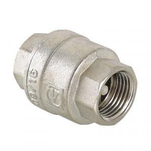 """Валтек VT.161.N 1"""" обратный клапан никелированный, Valtec"""