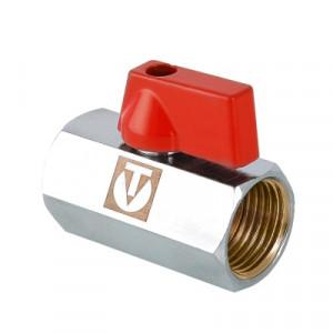Кран шаровой Валтек VT.330.N mini с внутренней резьбой, Ду 15, Valtec