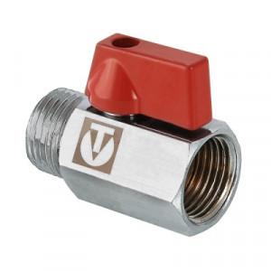 Кран шаровой Валтек VT.331.N mini с внутренней/наружной резьбой, Ду 15, Valtec