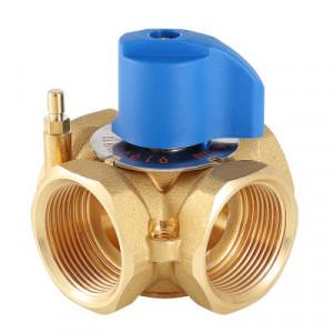 """Валтек VT.MIX04.G 1"""" четырехходовой смесительный клапан, Valtec"""