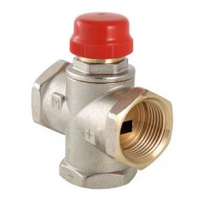 Валтек VT.MR01.N трехходовой термостатический смесительный клапан, Valtec