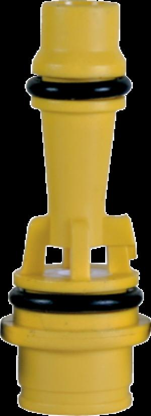 """Инжектор Clack """"G"""" желтый, корпус фильтра 13"""""""